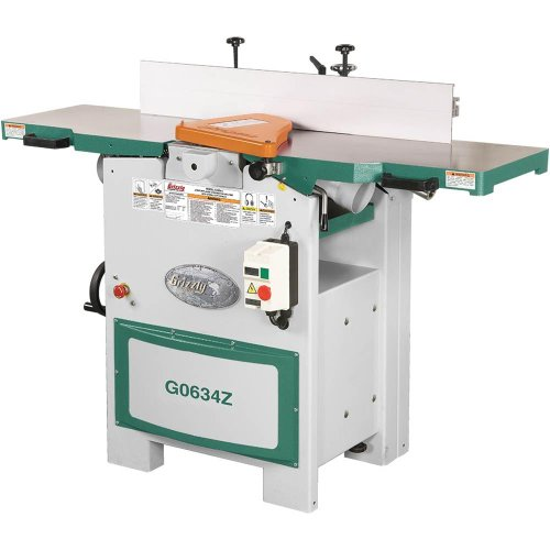 Grizzly G0634Z Planer/Jointer with Spiral Cutter head, 12