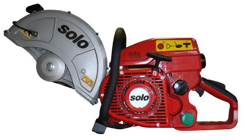 Solo 881-12 iLube 81cc Cut Off Saw, Accepts a 12-Inch Cutting Wheel for Concrete, Steel, Asphalt, Cast Iron or Stone