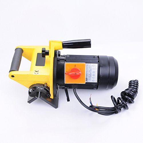Wotefusi New Industrial Portable Chamfer Chamfering Beveling Machine Tool 0-9 mm 15-45 Degree Power:250W 380V 3/4HP Speed:2800rpm