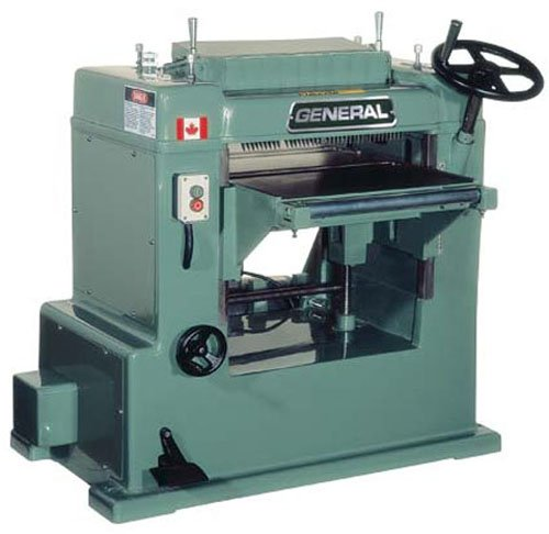 General International 330-M3 20-Inch Single Surface Planer 5HP 3/230/60 with Helical Cutterhead