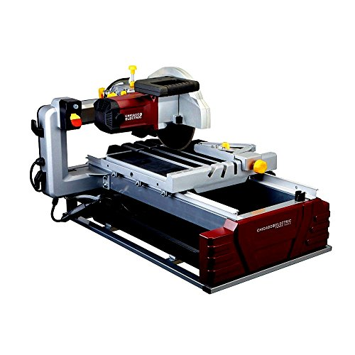 Tile And Brick Saw Cut Large Tiles 2 1/2 Horsepower 10