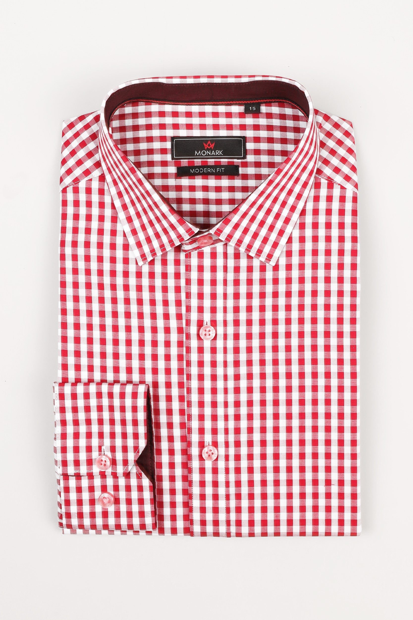 CHECKERED FORMAL SHIRT