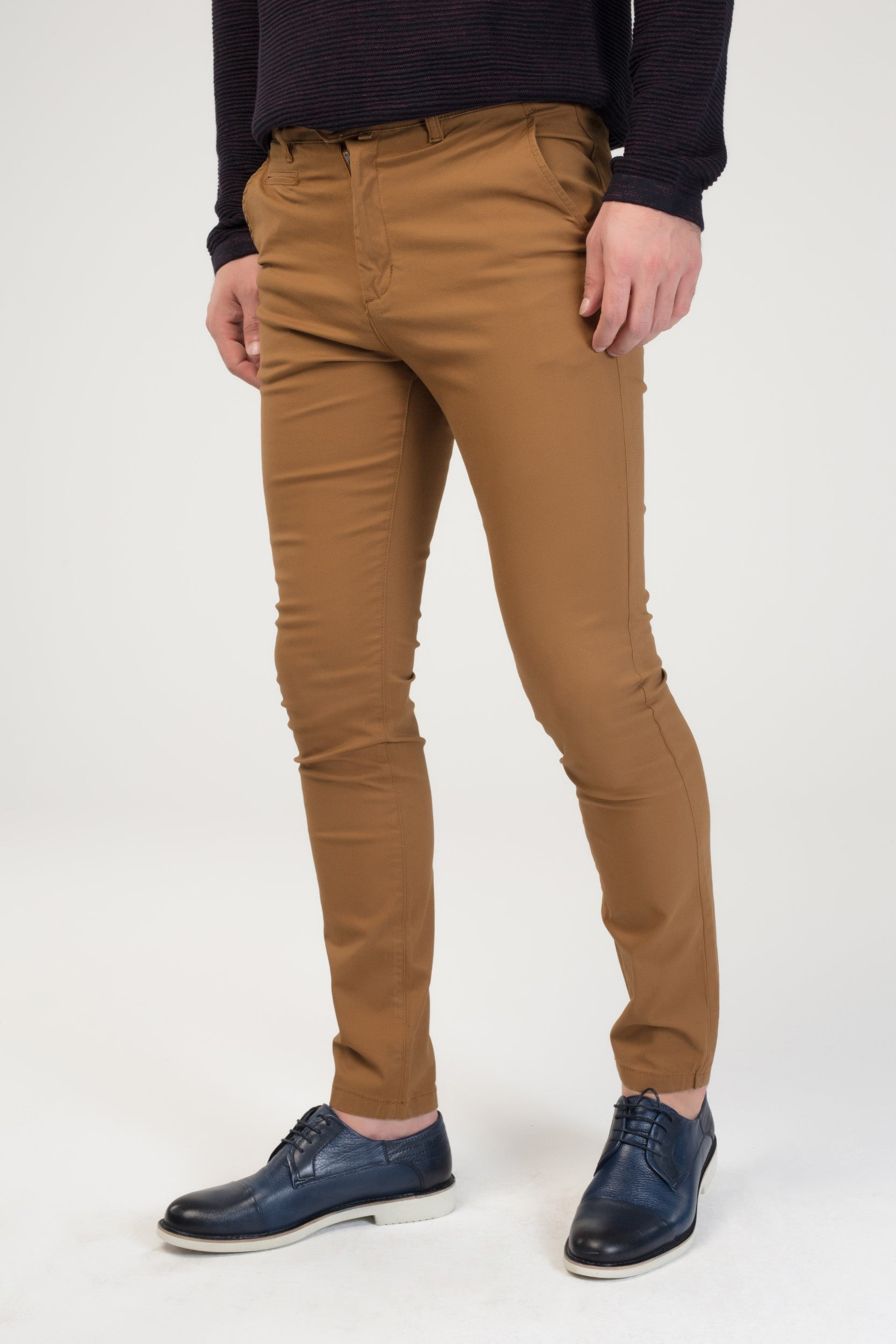 SUPER SLIM COTTON PANTS