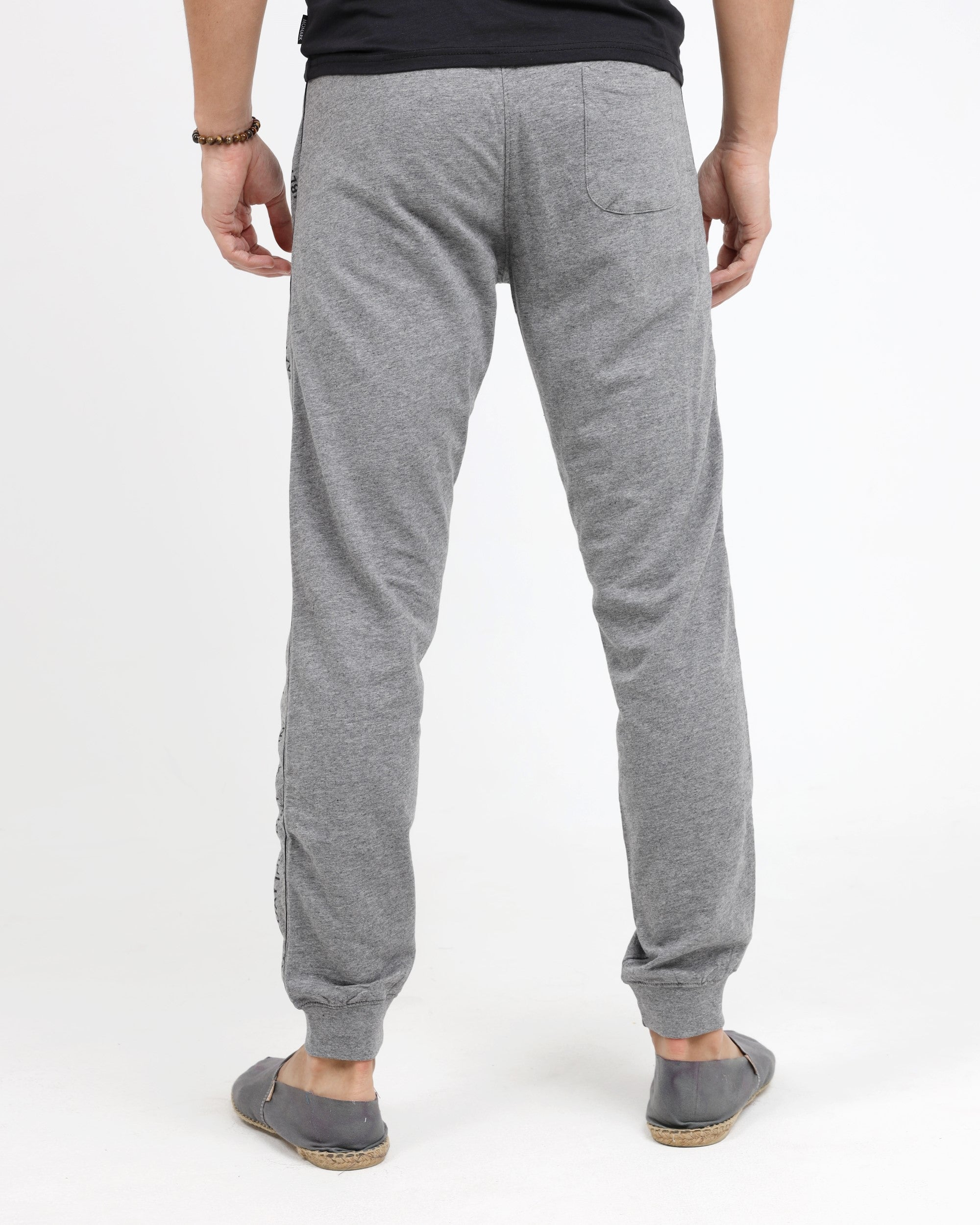 GRAY HEATHER JOG TROUSER