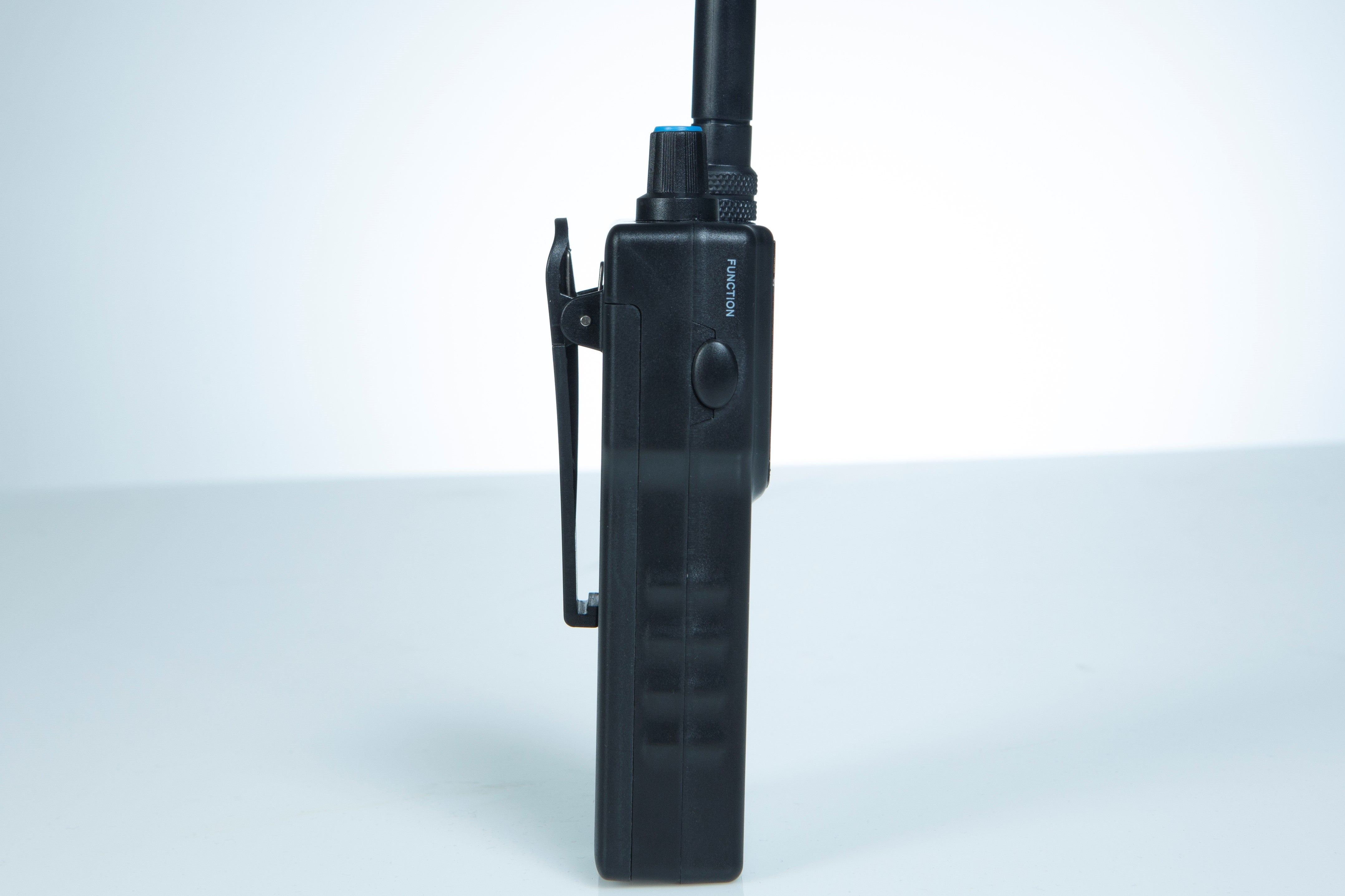 MySwimEars by MOSTswimtech walkie talkie side view