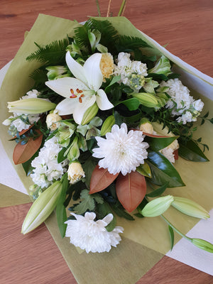 Free delivery of flowers & gifts from local Bendigo florist- Virginia Mary Florist. Order online or phone 03 54 422 922