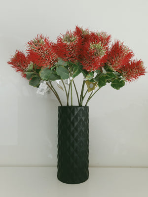 Artificial Coccinea Banksia Stem