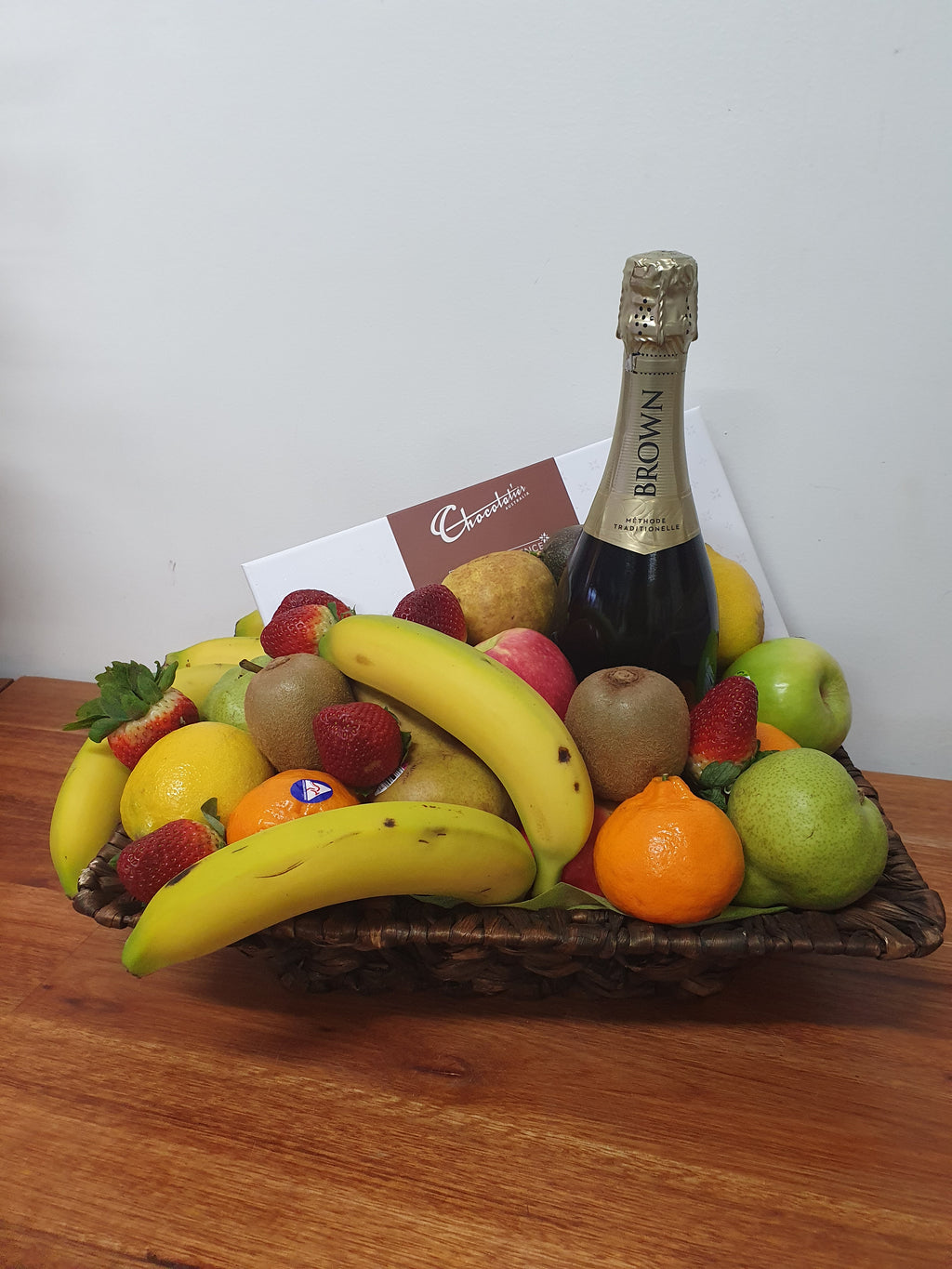 Fruit,Bubbles & Chocolates