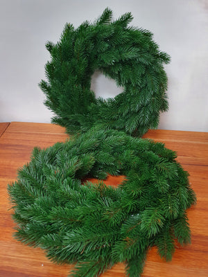 Traditional Pine Wreath