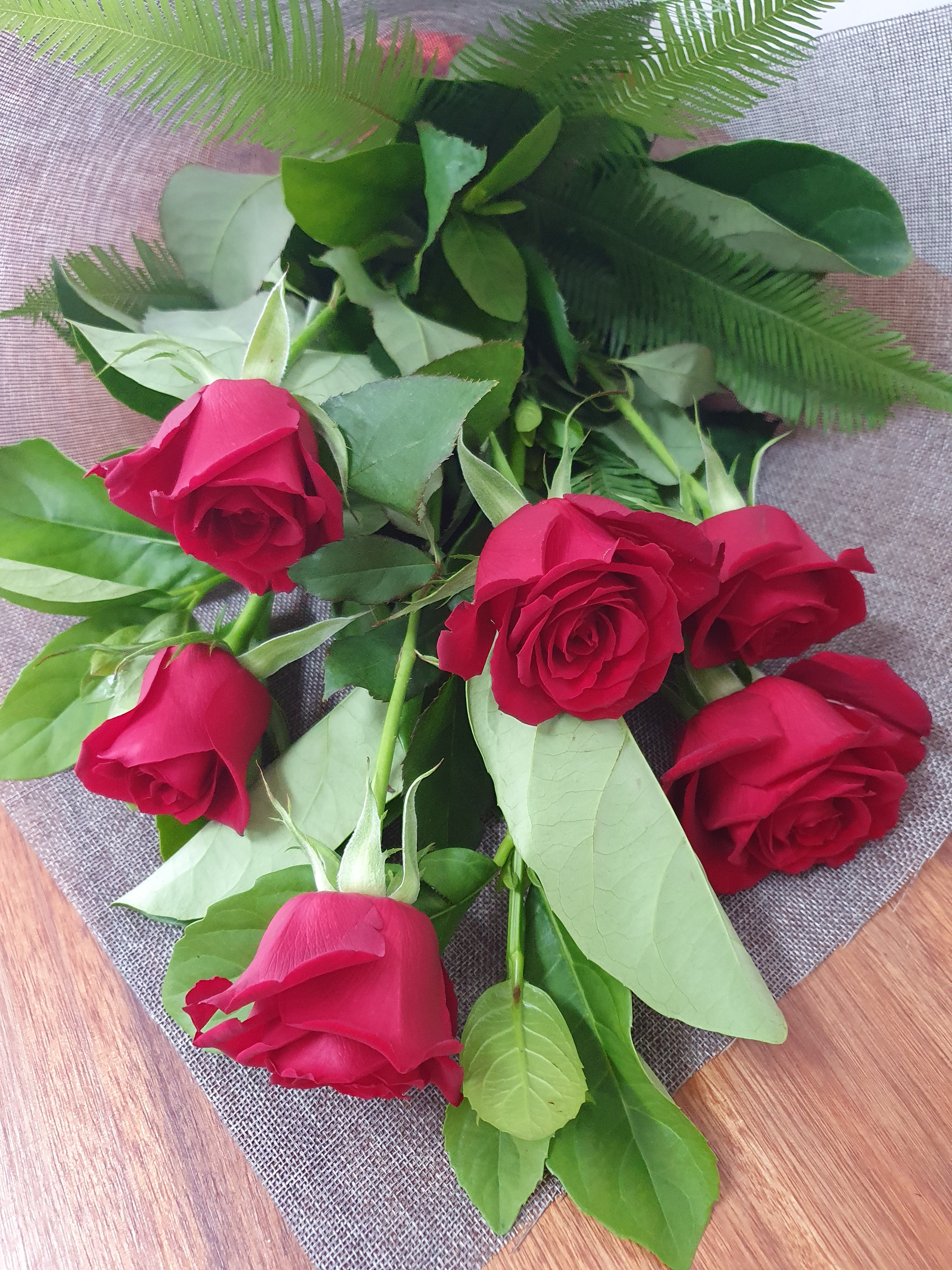 Valentine's Day Red Rose Bouquet