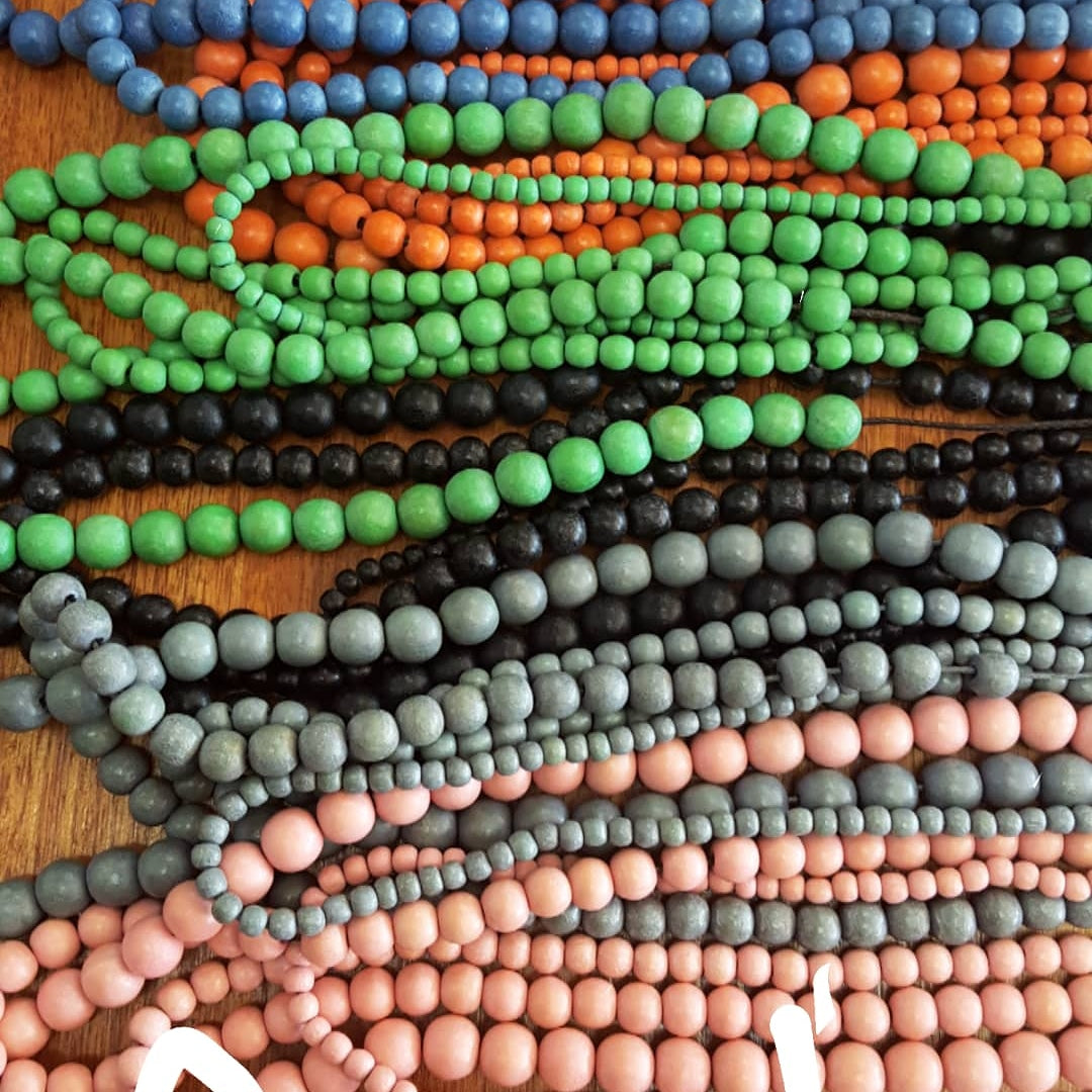 4 Strand Bead Necklace