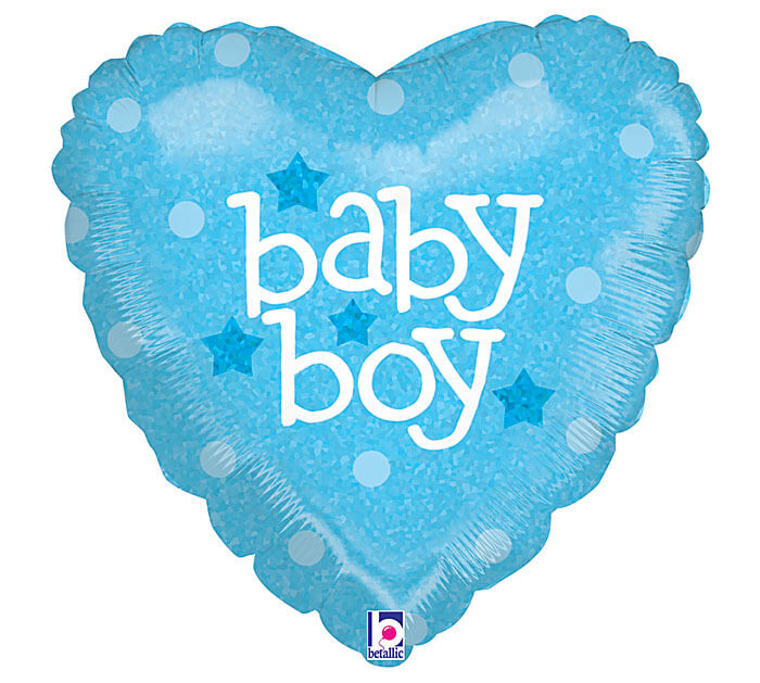 A Baby boy balloon can be delivered to Bendigo hospitals to welcome the new  addition.