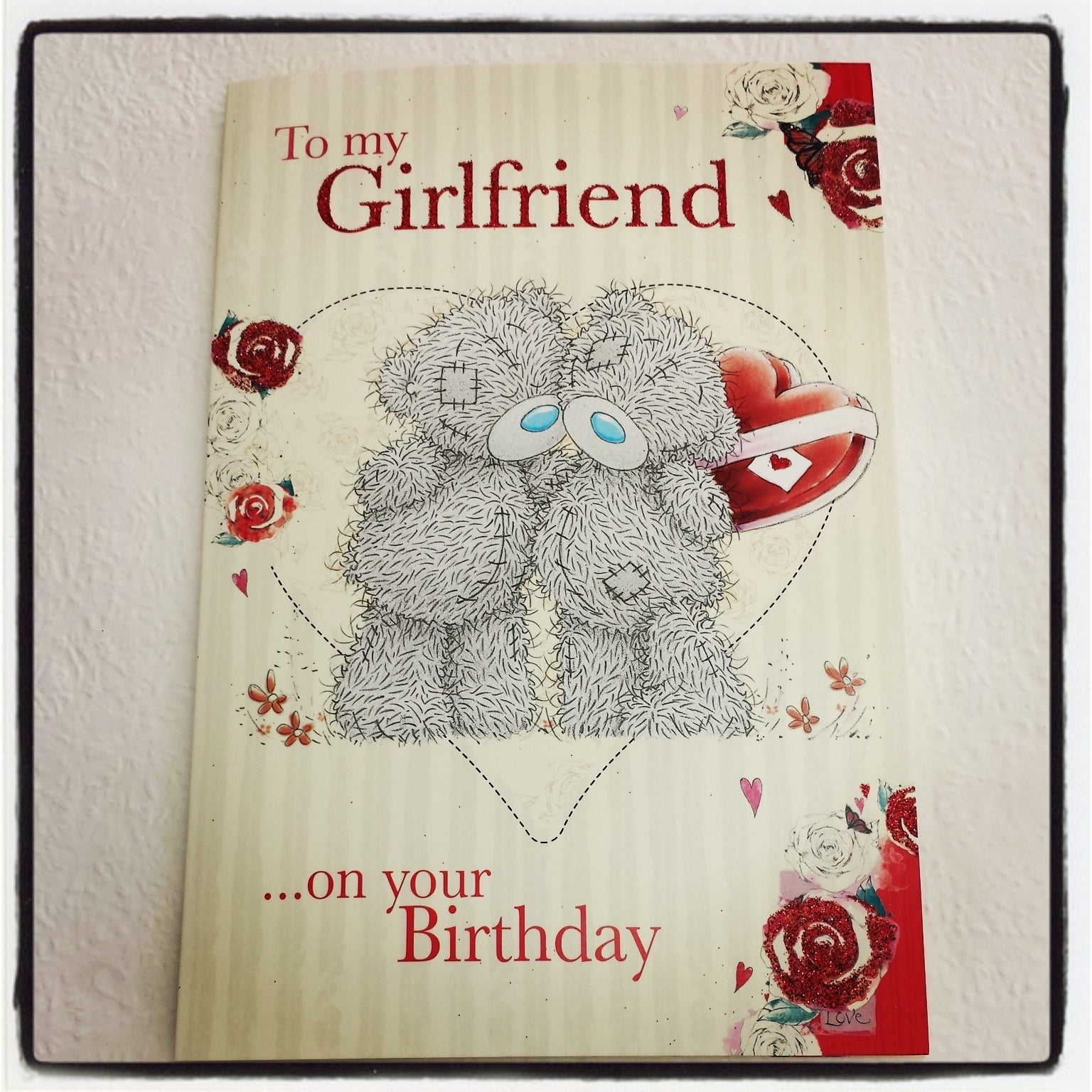 To my Girlfriend Card