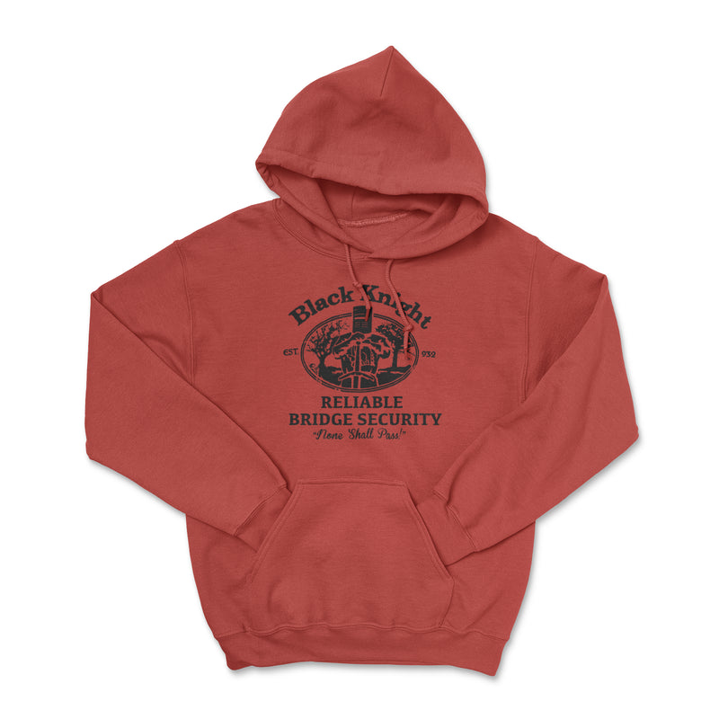 Black Knight Bridge Security Hoodie