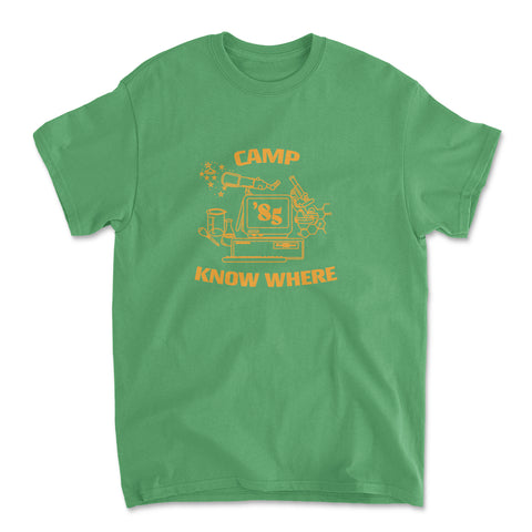 Camp Know Where Dustin Shirt