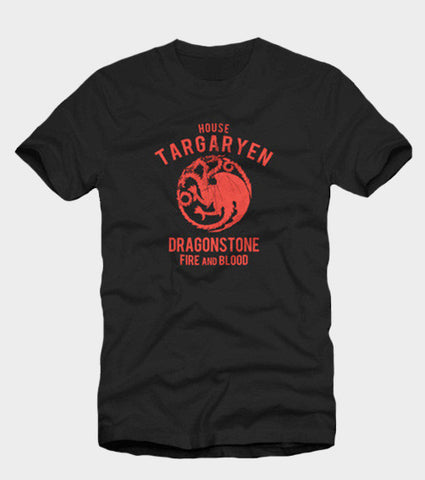 House Targaryen Game Of Thrones T-Shirt