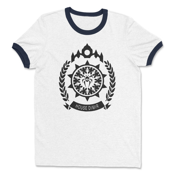House Dimir Ringer Shirt