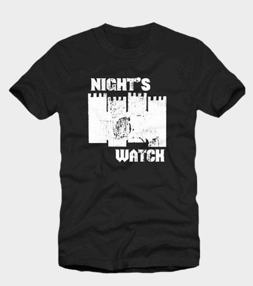 nights watch game of thrones t shirt. Black Bedroom Furniture Sets. Home Design Ideas