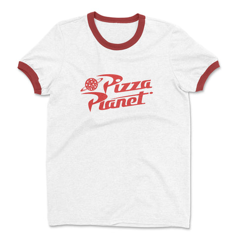 Pizza Planet Ringer Shirt