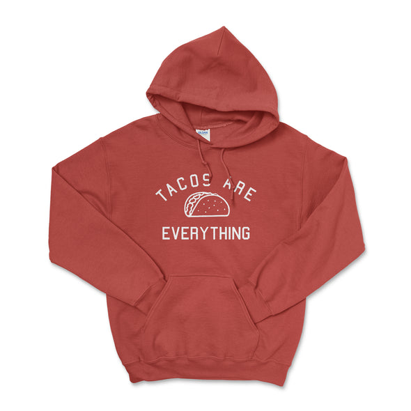 Tacos Are Everything Red Hoodie