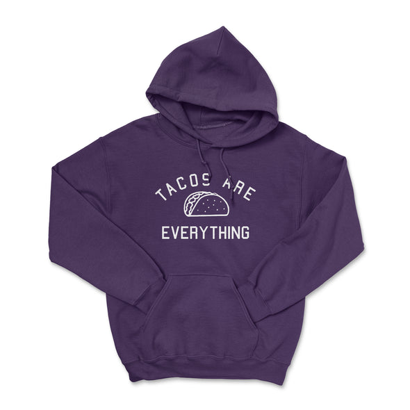 Tacos Are Everything Purple Hoodie
