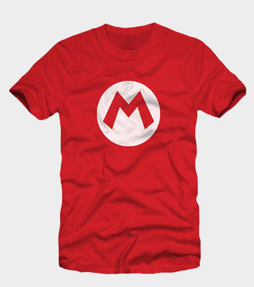 Super Mario Logo Shirt