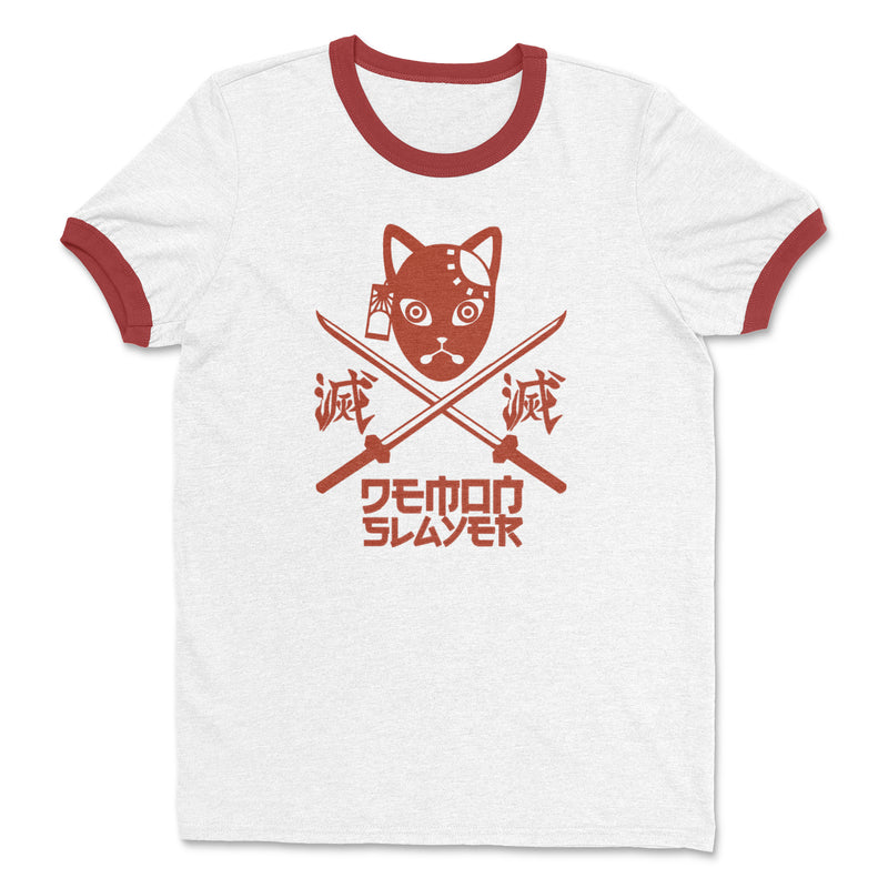 Demon Slayer Tanjiro Ringer Shirt