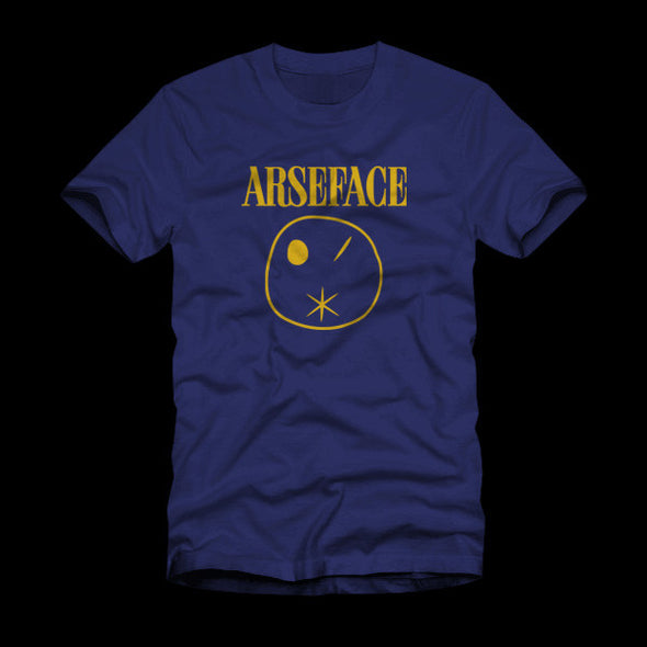 Arseface Preacher Navy Shirt
