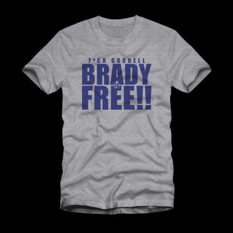 Brady is Free Heather Shirt