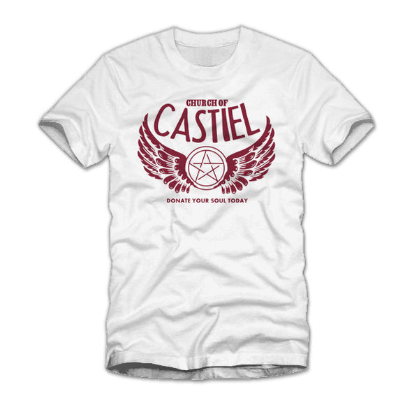 Church of Castiel White T-Shirt