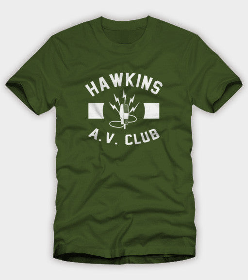 Hawkins AV Club Shirt
