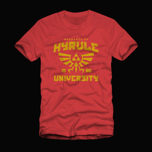 Hyrule University Shirt Red