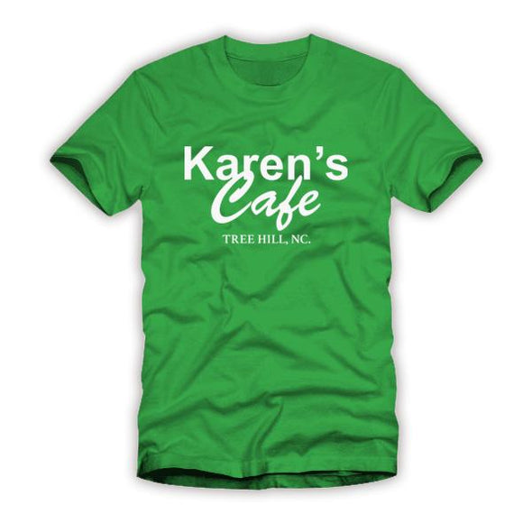 Karen's Cafe One Tree Hill Kelly Green Shirt