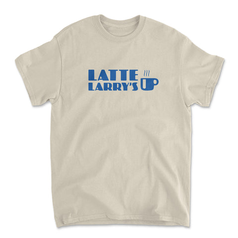 Latte Larry's Sand T-Shirt