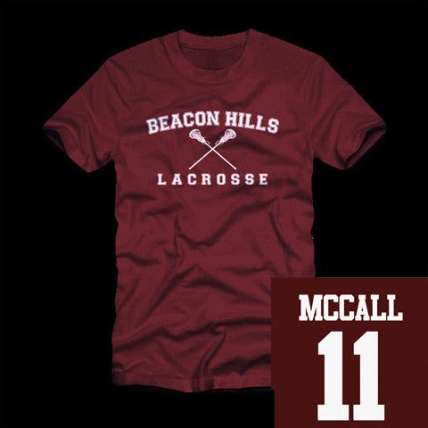McCall Beacon Hills Lacrosse T-Shirt