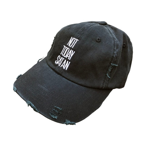 Not Today Satan Vintage Hat