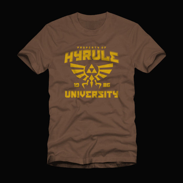 Hyrule University Shirt Brown