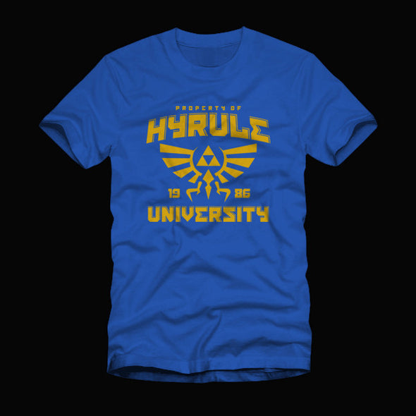 Hyrule University Shirt Royal