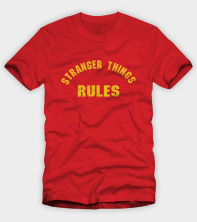 Stranger Things Rules Shirt