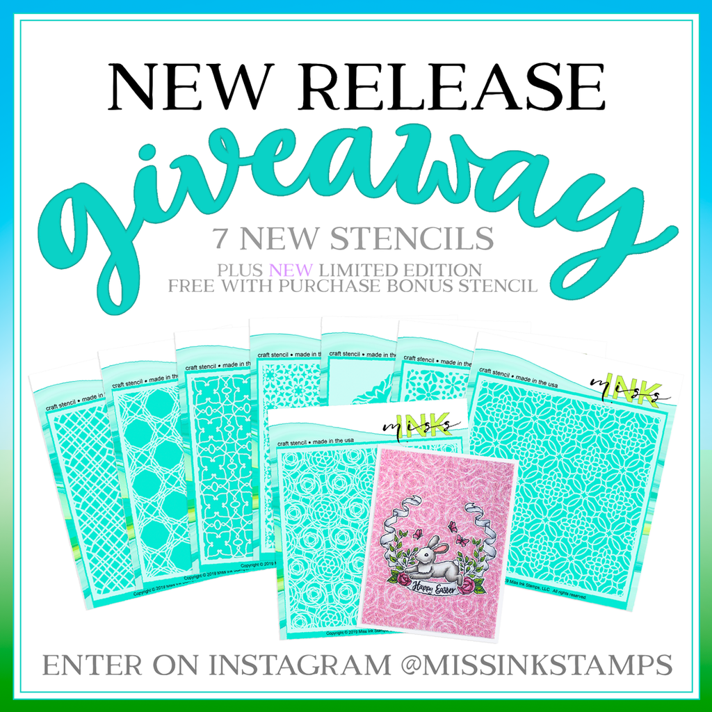 New Release Stencils and Limited Edition Free with Purchase