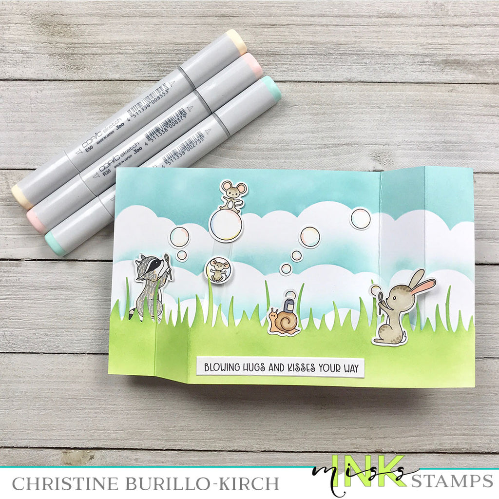 Bubble Wiper Card