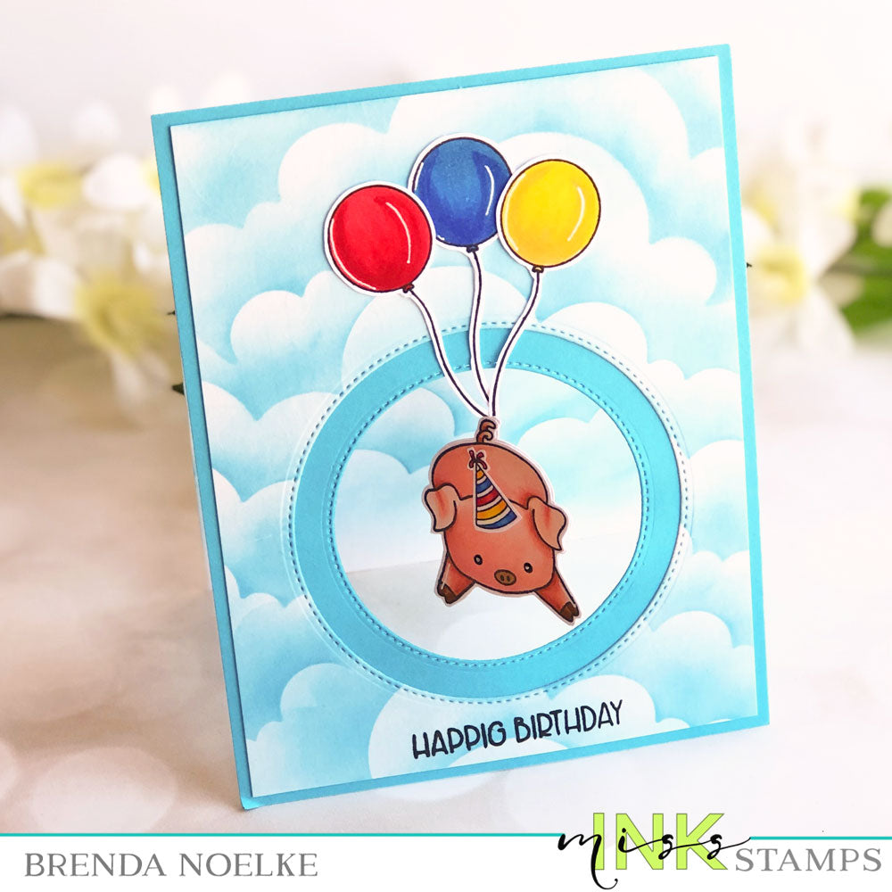 Step Up Your Cardmaking With Brenda - Spinner Card