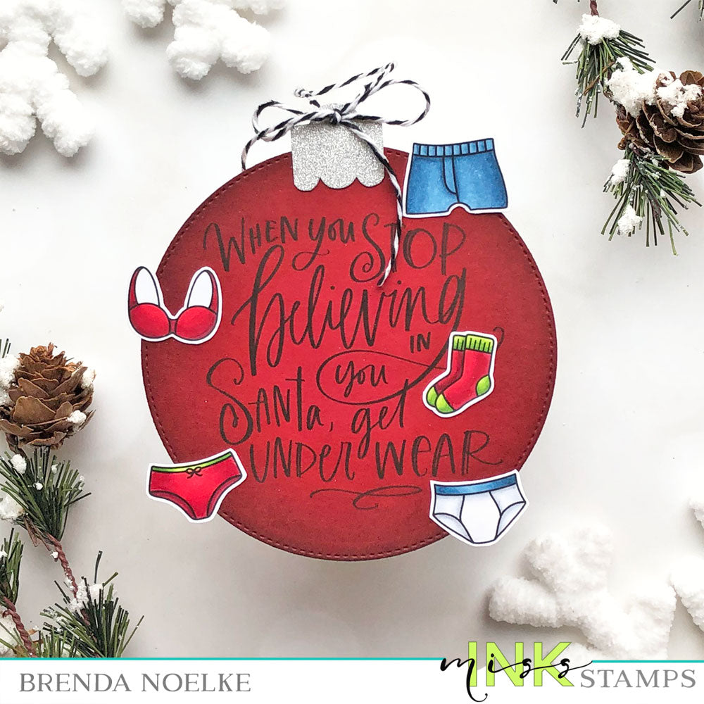 Step Up Your Cardmaking with Brenda - I Believe Ornament