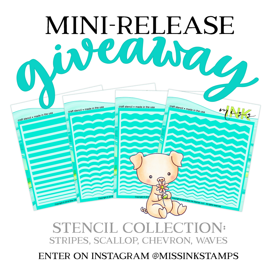 Stencil Week, Mini Release and Giveaway!