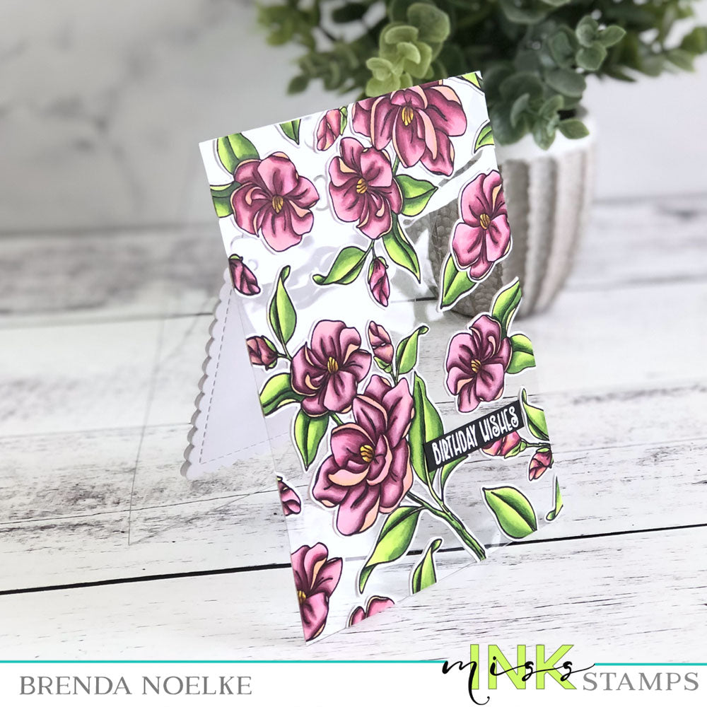 Step-Up Your Cardmaking with Brenda - See Through Card
