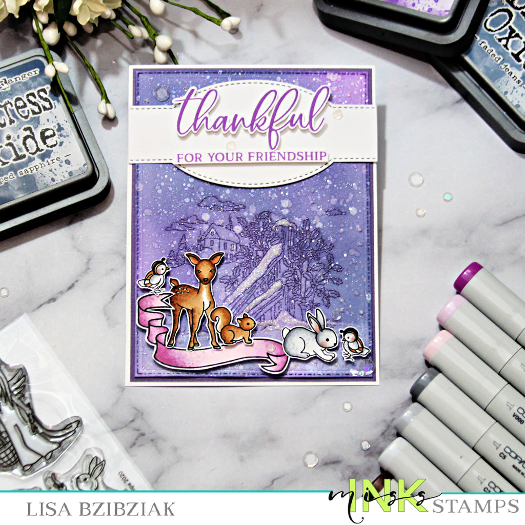 Mixing It Up - Easy Way to Use Background Stamps