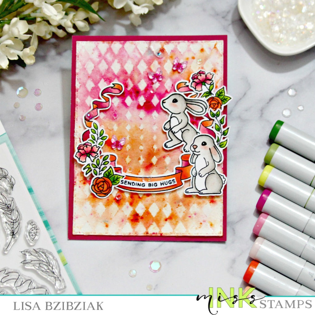Mixing It Up - Emboss Resist With Color Bursts!