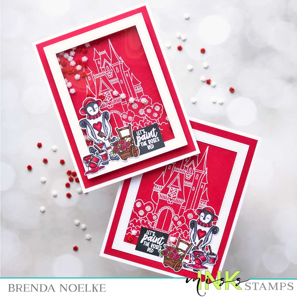 Step Up Your Cardmaking with Brenda - Shaker Card