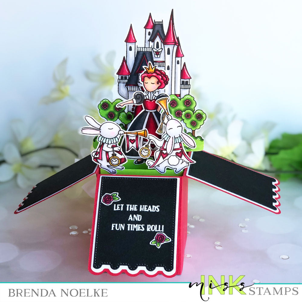 Step Up Your Cardmaking with Brenda - Pop Up Box