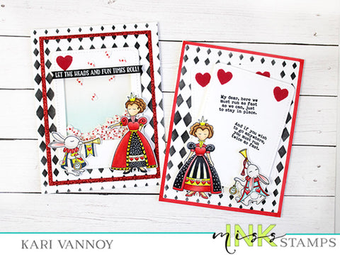 Queen of Hearts 2 cards
